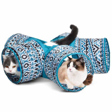 Pet Activity Toy Cat Tunnel Tube Pet Cat Toys Interactive New Durable Pet Toys
