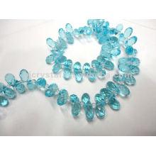 Perle de verre à la mode
