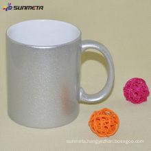 Sublimation 11oz Ceramic Silver Mug Made in China