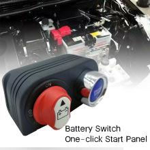 Panel de interruptores de arranque del motor del interruptor aislador de batería de 50 A