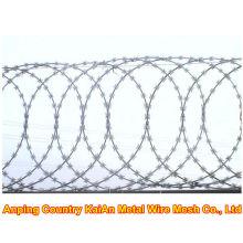 Various of Barbed Iron Wire / Galvanized Razor Wire / PVC coated razor wire / barbed wire ---- 30 years factory