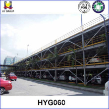 3 Floors Steel structure vertical parking system