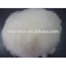 Super feine chinesische Lämmer Wolle, haarige und kardierte Lammwolle
