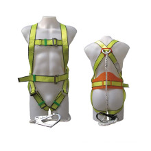 China Industrial Polyester Working Full-Body Adjustable Safety Harness Belt