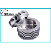 Customized high precision aluminum alloy CNC Turning Machining , Titanium alloy turned part