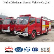 Caminhão de fogo Euro3 da água de 3.5ton Isuzu
