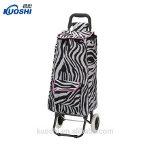 shopping folding box trolley bag with chair