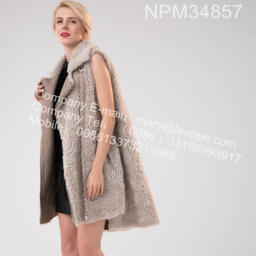 Winter Lady Icelandic Lamb Fur Gilet