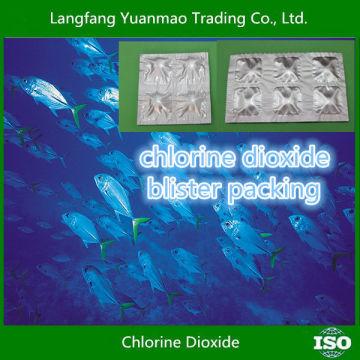 Emballage Blister / Alibaba de chlore Meilleure vente / Fongicide désinfectant écologique Produits chimiques pour l'aquaculture