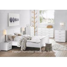 Modern White 4 + 4 Storage Drawer Bedroom Dresser (HC08)