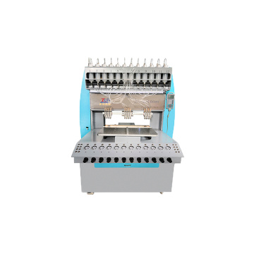JinYu 12 heads/needles/colors pvc label dispenser machine