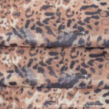 Poliéster forro impreso con leopardo