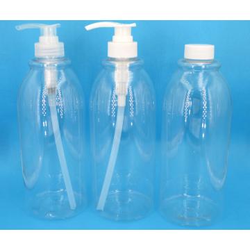 Botellas de bomba de loción y spray de viaje recargables vacías