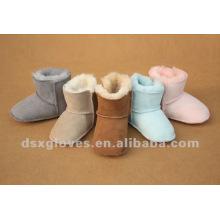 baby sheepskin winter shoes