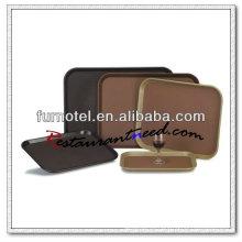 P136 PC antideslizante de alta calidad bandeja antideslizante