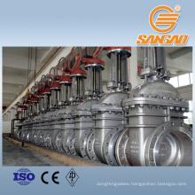 industrial pipe WCB A216 high pressure gate valve pn40 cast steel gate valve class 150