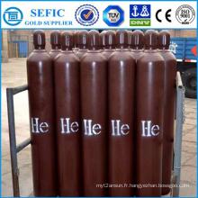 Cylindre réutilisable de gaz d'hélium de vente chaude (ISO9809-3)