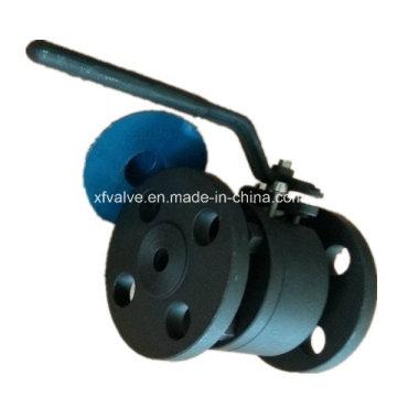 Clapet à bille d'extrémité de connexion de bride forgé en acier A105 d'ANSI 150lb