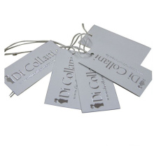 Factory Customized Paper Clothing Hangtag Labels with Rope