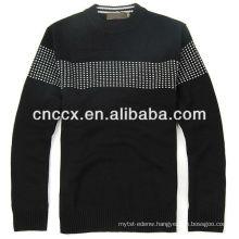 13STC5595 latest design fashion crewneck sweaters for men cheap