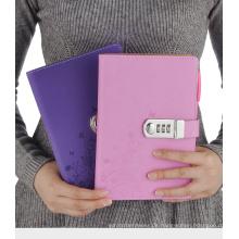 2017 Produkte Business Notebook Schreibblöcke PU Notebook mit Schloss