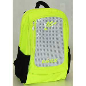 Mochila de color brillante de seguridad con PVC reflectante