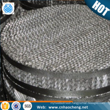 Distillation column packing structured packing stainless steel mesh for packed tower