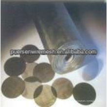 Malha de arame de aço macio, pano de ferro preto ferro