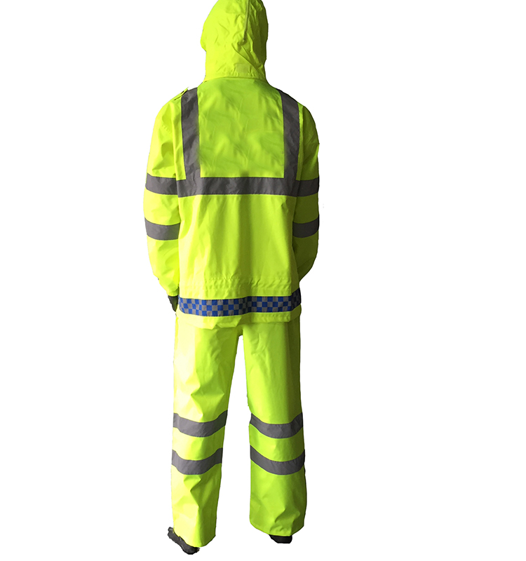 waterproof roadway security clothing