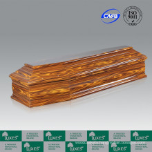Popular Italian Style Paper Veneer Cheap Funeral Coffin&Casket