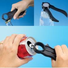 6 in 1 Multifunctional Plastic Bottle Top Opener (ZT10014)