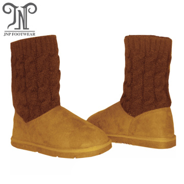 Quality kids long casual winter warm girls boots