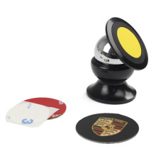 Rotate 360 Degrees Magnetic Car Mount Holder for Mobile Phones and Mini Tablets