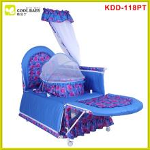 EN1888 high quality frame china assembled baby crib