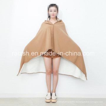 Anti-Static Fleece Decke schlummern Schal warme Kniedecke