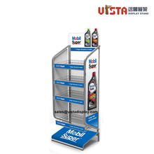 4+Shelf+Lubricating+Oil+Metal+Display+Stand+Rack