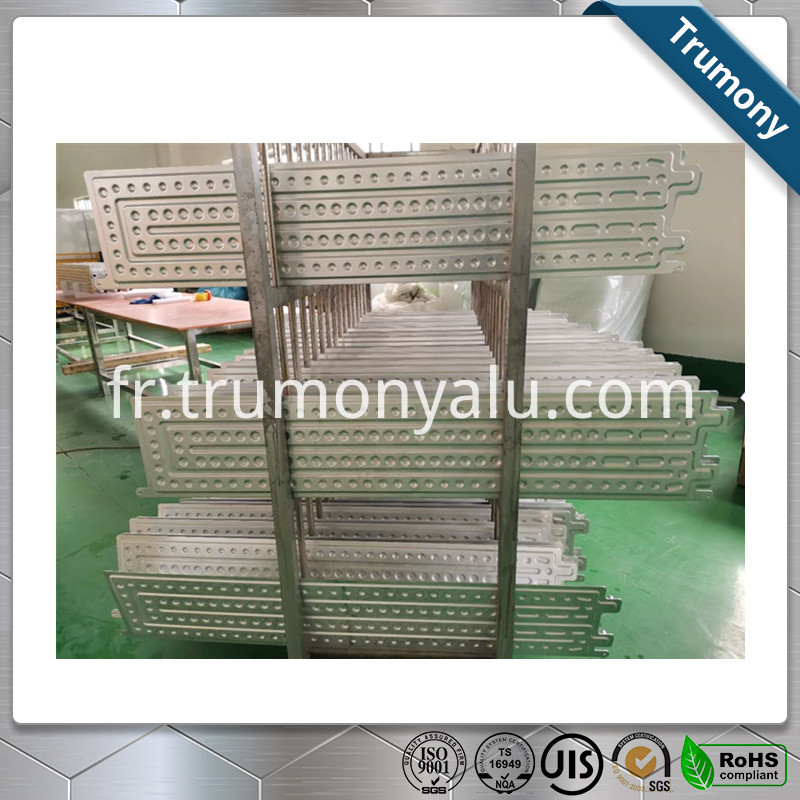 3003 Aluminum Brazed Water Cooling Panel