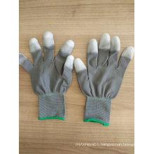 PU Tip Coated Safety Work Gloves (PU2011)