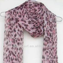 Polyester printing chiffon scarf