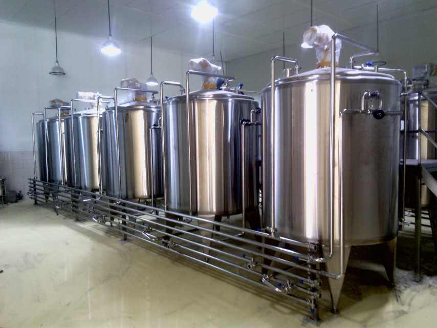 Industrial Mixing Tank