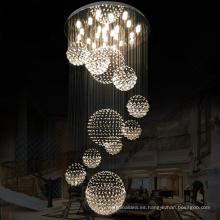 La decoración interior moderna de la fábrica promovió las lámparas ligeras del soporte del techo para la lámpara casera de lujo del pasillo