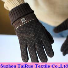 Micro camurça impressa com flanela composta para tecido de luvas