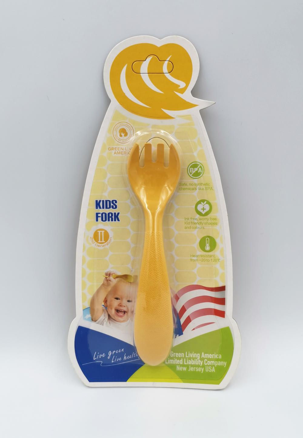 Eco-friendly Durable Kids Fork