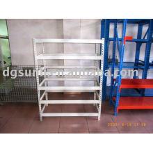 slotted-angle shelf