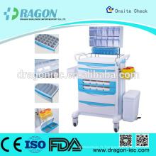 DragonDW-FC007 iv chariot de traitement dans l'hôpital à vendre