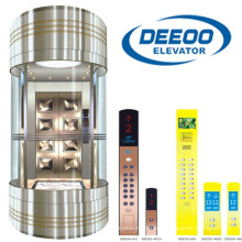 Top Quality Panoramic Elevator Sightseeing Elevator Residential Lift