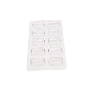 Kundenspezifische Sicherheit Clear Capsule Pill Blister Tray Packs