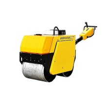 Self-propelled tipe single drum vibratory road roller