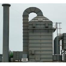 Machine de traitement des gaz d'échappement des fumées Stenter