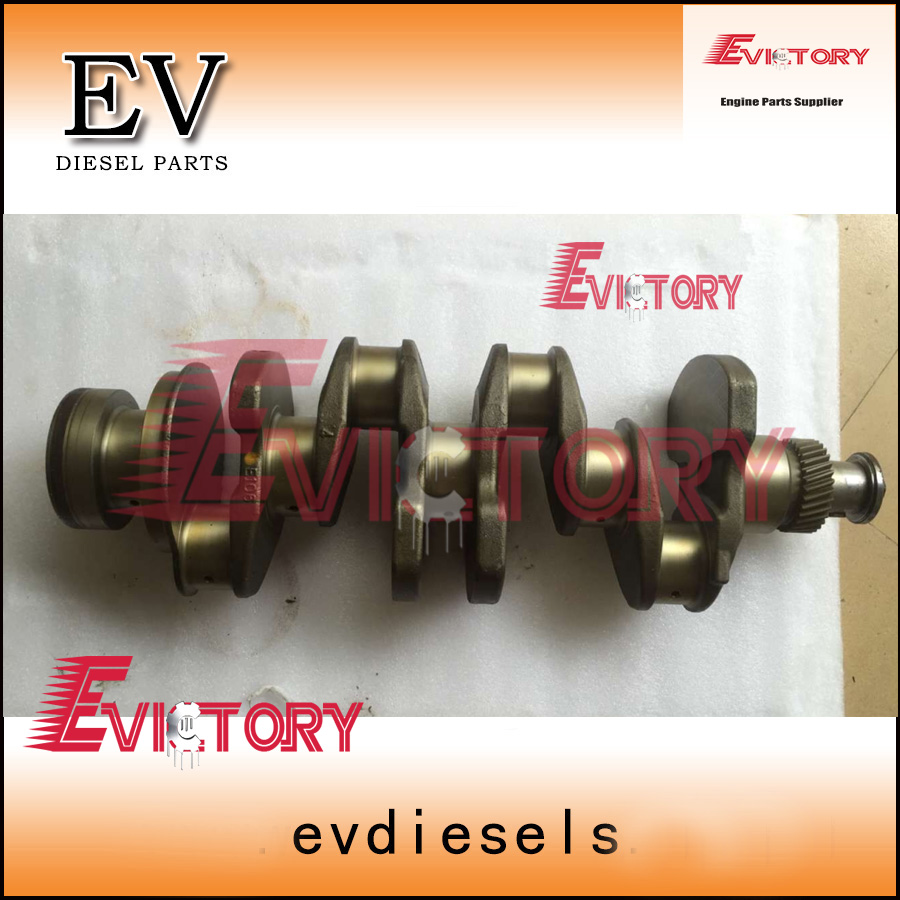 genuine used 4D106 crankshaft